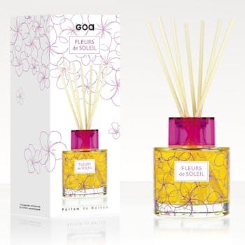 Diffuseur de parfum Fleurs de Soleil Les Intemporelles 200ml CLEM GOA