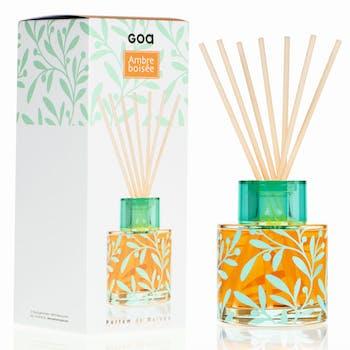 Diffuseur de parfum Intemporels Ambre Boisé  200 ml CLEM GOA