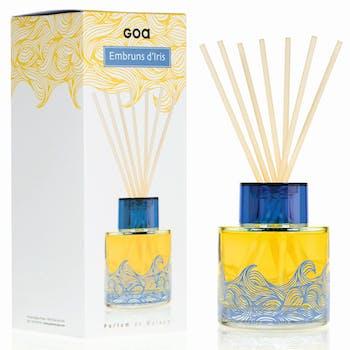 Diffuseur de parfum Intemporels Embruns d'Iris 200 ml CLEM GOA