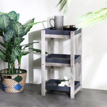 Etagère plante intérieur/extérieur gris foncé