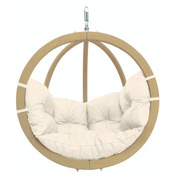 Fauteuil suspendu Globo Chair Natura 121x118x69cm AMAZONAS
