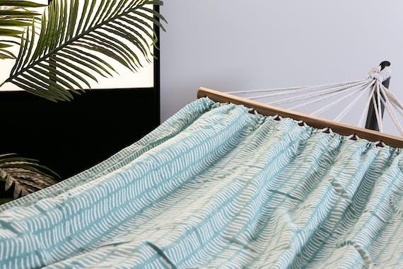 Hamac bleu turquoise 200cm