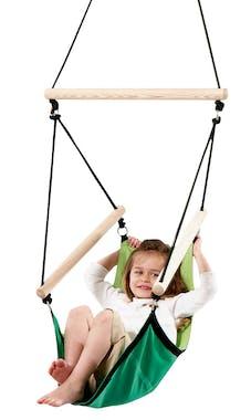 Hamac Fauteuil suspendu pour enfant Kids Swinger Green vert S AMAZONAS