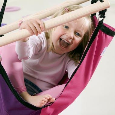 Hamac Fauteuil suspendu pour enfant Kids Swinger Pink rose S AMAZONAS
