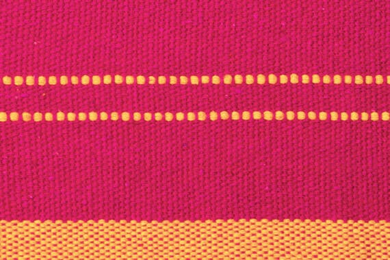 Hamac tissu rose SANTANA