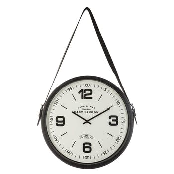 Horloge murale cordon ceinture D38cm