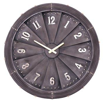 Horloge murale forme hélice D 62,5 cm