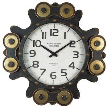 Horloge murale industrielle roulements