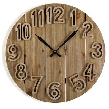 Horloge murale rétro 60x60 réf. 30025018