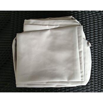 Jeu de Housses tissu gris pour Salon de Jardin ACAPULCO
