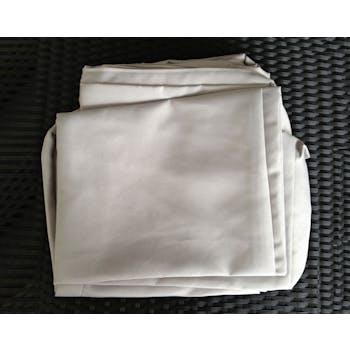 Jeu de Housses tissu gris pour Salon de Jardin WAIMEA