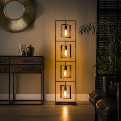 Lampadaire industriel cadres 4 lampes RALF