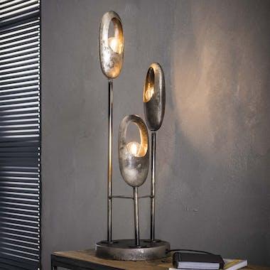 Lampe à poser contemporaine 3 galets lumineux RALF