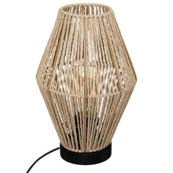 Lampe en papier H 32 cm