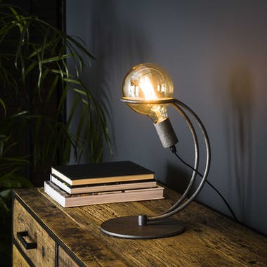 Lampe industrielle baladeuse pied arqué TRIBECA