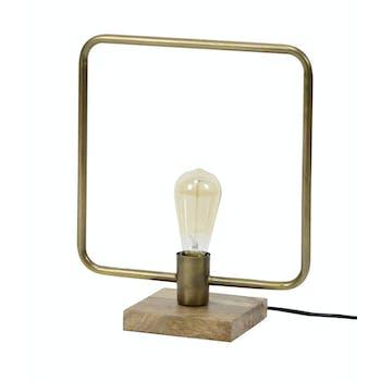 Lampe industrielle carrée TRIBECA