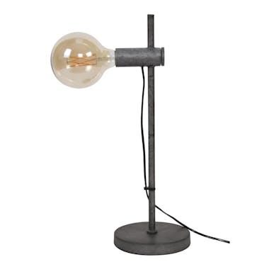 Lampe industrielle droite métal vieilli TRIBECA