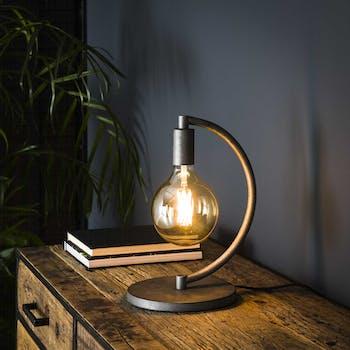 Lampe industrielle pied arqué TRIBECA