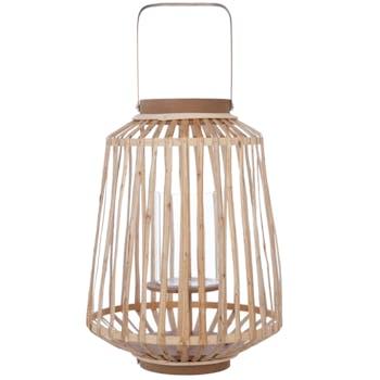 Lanterne en rotin naturel D25xH35cm