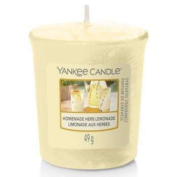 Limonade aux herbes bougie parfumée votive YANKEE CANDLE