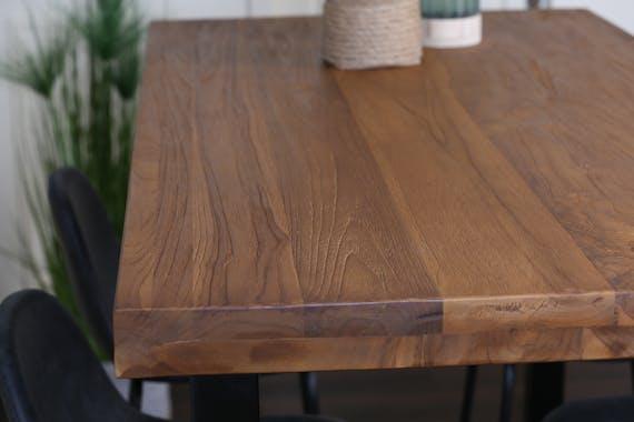 Mange-debout en bois de teck 140 cm CANADA