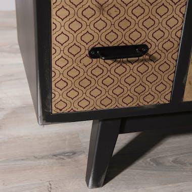 Meuble de rangement patchwork 8 tiroirs LEONARD