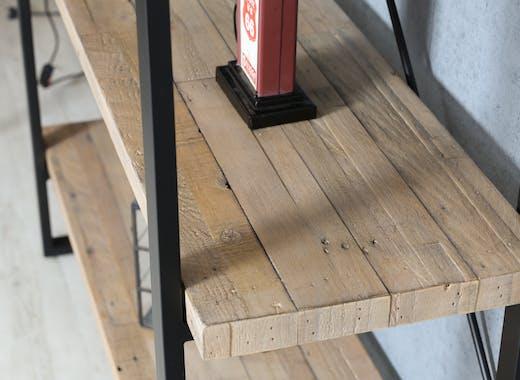 Meuble étagère en bois recyclé AUCKLAND