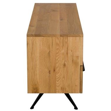 Meuble TV bois 3 tiroirs VOLGA