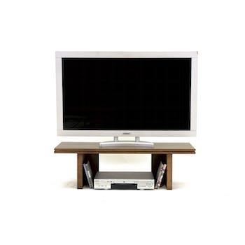 Meuble TV Hévéa 100x35x30cm HELENA