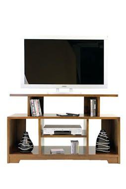 Meuble TV hévéa 124cm HELENA