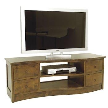 Meuble TV vague TRADITION 140 cm