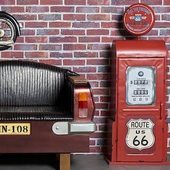 Meuble vintage pompe à essence