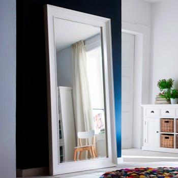 Miroir horizontal blanc ROYAN
