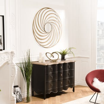 Miroir rond spirale BANGALORE