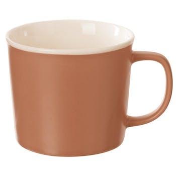 Mug en porcelaine terracotta