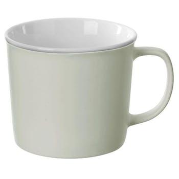 Mug en porcelaine vert menthe