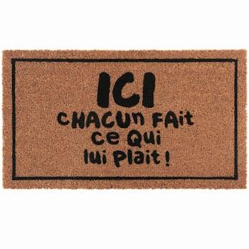 Paillasson COCO/PVC Ici DLP