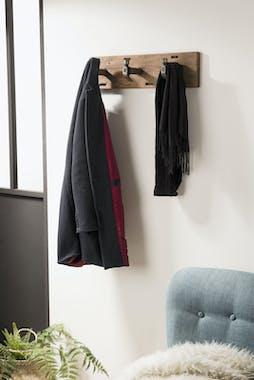 Patère style industriel 3 crochets SWING