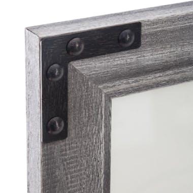 Pêle-Mêle 2 photos en bois gris 41x51cm