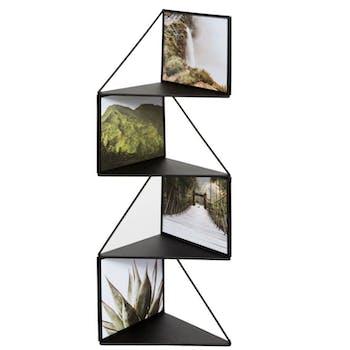 Pêle-mêle 4 photos métal noir