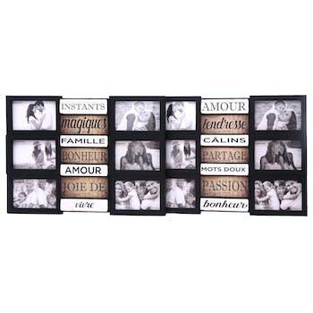 Pêle-Mêle 6 photos avec messages 37x50 cm
