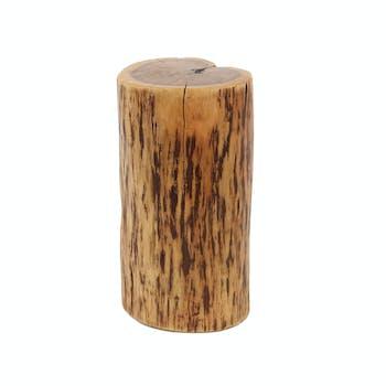 Petite table d'appoint tronc d'arbre MELBOURNE