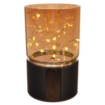Photophore dôme lumineux à LED