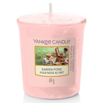 Pique-nique au vert bougie parfumée votive YANKEE CANDLE