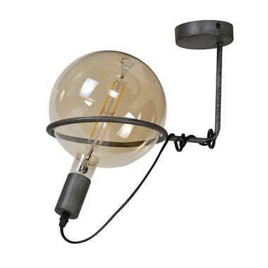 Plafonnier industriel baladeuse 1 lampe XL RALF