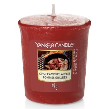 Pommes grillées bougie parfumée votive YANKEE CANDLE