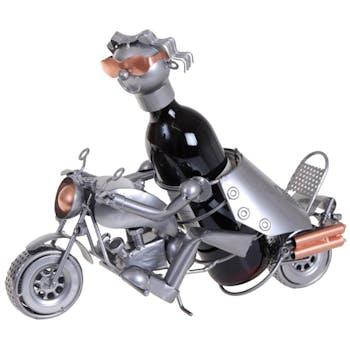 Porte-bouteille motard
