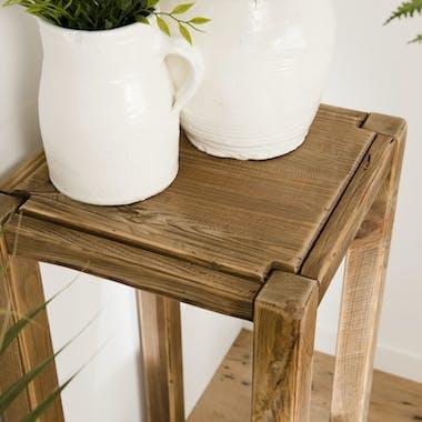 Porte-plante en bois de pin recyclé DENVER