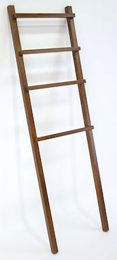 Porte serviette échelle hévéa h160cm OLGA