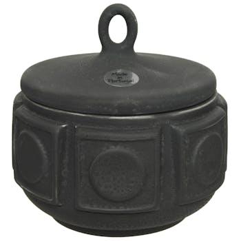 Pot style antique à couvercle 13 cm